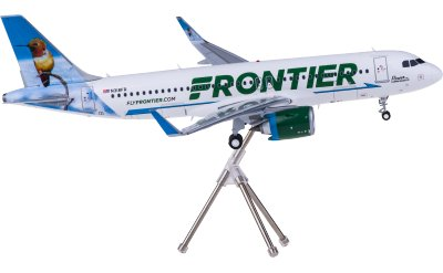 Frontier Airlines 边疆航空 Airbus A320neo N318FR 蜂鸟