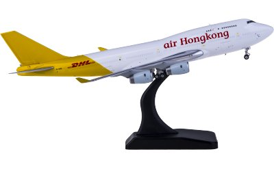 Phoenix 1:400 DHL 敦豪 Boeing 747-400 B-HUR 货机