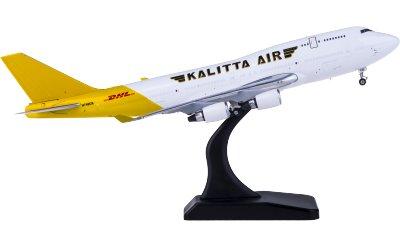 Phoenix 1:400 DHL 敦豪 Boeing 747-400 N740CK 货机