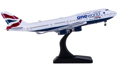 Phoenix 1:400 British Airways 英国航空 Boeing 747-400 G-CIVZ 寰宇一家