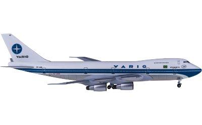 AeroClassics 1:400 VARIG 里约格朗德航空 Boeing 747-200 PP-VNB