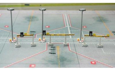 机场灯柱及飞机目视停靠泊位引导系统