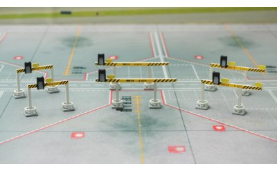 3组飞机目视停靠泊位引导系统