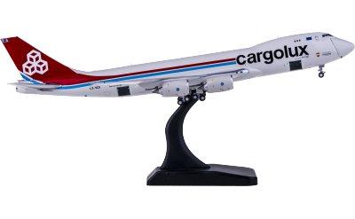 Geminijets 1:400 Cargolux 卢森堡货运航空 Boeing 747-8F LX-VCA