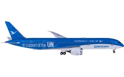 Ngmodel 1:400 XiamenAir 厦门航空 Boeing 787-9 B-1356 联合国彩绘