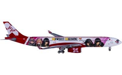 Ngmodel 1:400 AirAsia 亚洲航空 Airbus A330-300 9M-XXB 少女前线