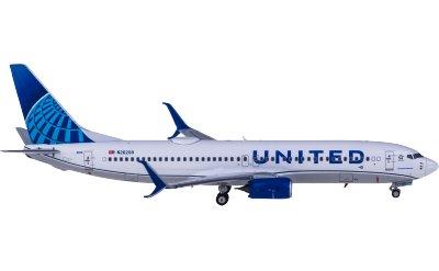 United Airlines 美国联合航空 Boeing 737-800 N26208