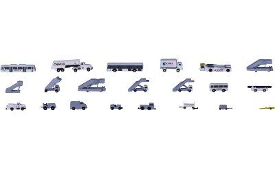 AeroClassics 1:400 中国国际航空地勤车辆套装21辆