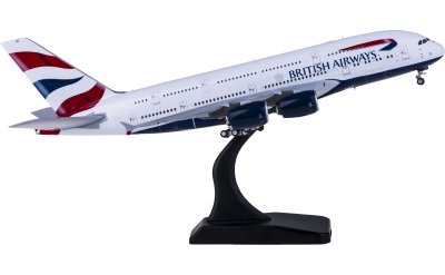 Phoenix 1:400 British Airways 英国航空 Airbus A380 G-XLEL