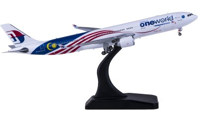 Phoenix 1:400 Malaysia Airlines 马来西亚航空 Airbus A330-300 9M-MTE 寰宇一家