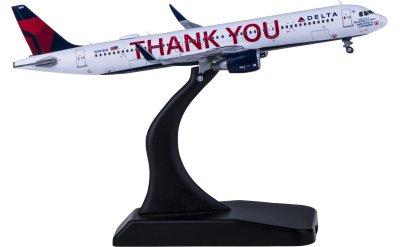 Delta Air Lines 达美航空 Airbus A321 N391DN Thank You