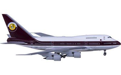 Ngmodel 1:400 Qatar 卡塔尔航空 Boeing 747SP VP-BAT 埃米尔专机