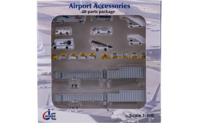 JC Wings 1:400 机场附件套装