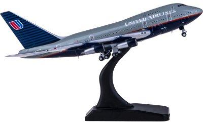United Airlines 美国联合航空 Boeing 747SP N145UA