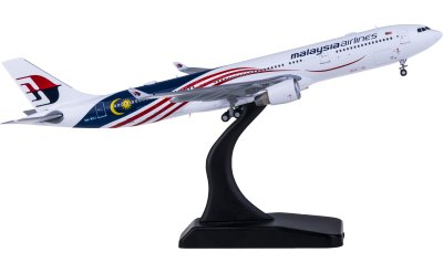 Malaysia Airlines 马来西亚航空 Airbus A330-300 9M-MTJ 国旗彩绘