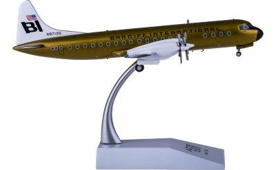 Braniff 布兰尼夫国际航空 Lockheed L-188C Electra N9710C