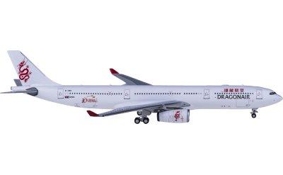 Ngmodel 1:400 Dragonair 港龙航空 Airbus A330-300 B-HWK 10周年彩绘