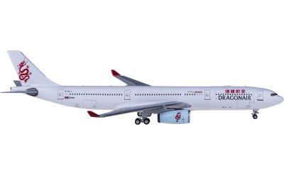 Ngmodel 1:400 Dragonair 港龙航空 Airbus A330-300 B-HLJ
