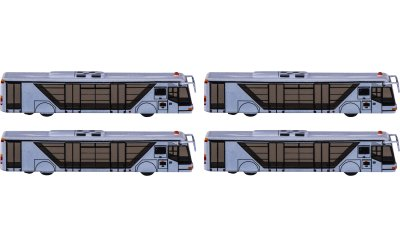 Neoplan 尼奥普兰 机场巴士4辆
