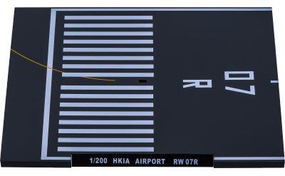 香港国际机场 07R跑道展示板