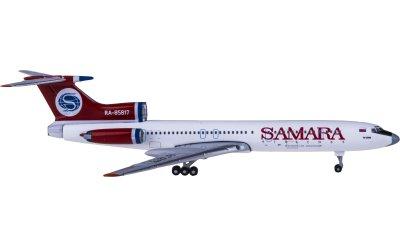 AeroClassics 1:400 Samara Airlines 萨马拉航空 Tupolev Tu-154M RA-85817