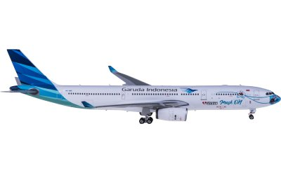 Phoenix 1:400 Garuda Indonesia 印度尼西亚鹰航 Airbus A330-300 PK-GHC 口罩彩绘