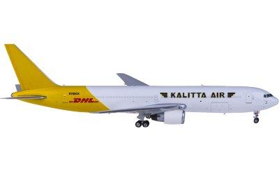 Phoenix 1:400 Kalitta Air 卡利塔航空 Boeing 767-300ER N760CK DHL 货机