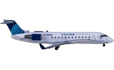 Geminijets 1:400 United Airlines 美国联合航空 Bombardier CRJ200LR N246PS