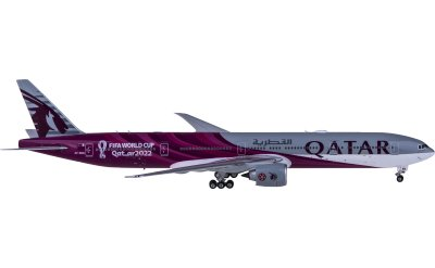 Phoenix 1:400 Qatar 卡塔尔航空 Boeing 777-300ER A7-BEB 2022世界杯彩绘