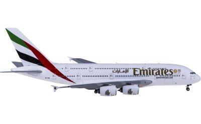 Geminijets 1:400 Emirates 阿联酋航空 Airbus A380 A6-EUD