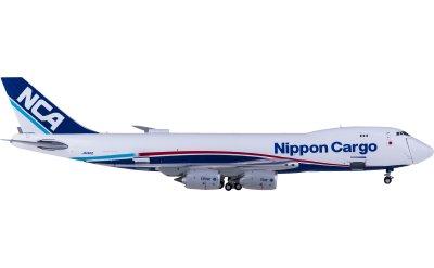 Geminijets 1:400 Nippon Cargo Airlines 日本货物航空 Boeing 747-8F JA14KZ 开鼻货机