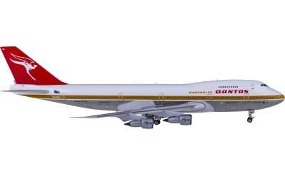 Phoenix 1:400 Qantas 澳洲航空 Boeing 747-200 VH-EBA