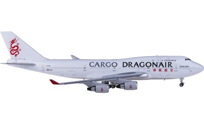 Phoenix 1:400 Dragonair 港龙航空 Boeing 747-400 B-KAF 货机