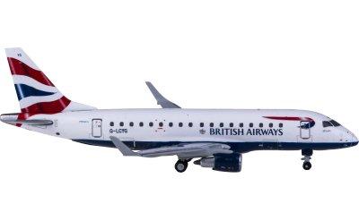 Geminijets 1:400 British Airways 英国航空 Embraer ERJ-170 G-LCYG