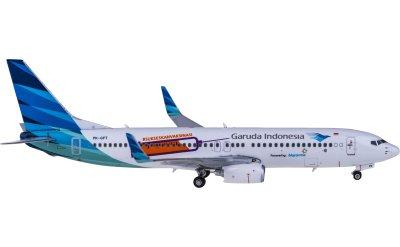 Phoenix 1:400 Garuda Indonesia 印度尼西亚鹰航 Boeing 737-800 PK-GFT 疫苗彩绘