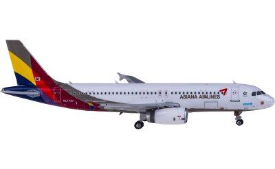Phoenix 1:400 Asiana 韩亚航空 Airbus A320 HL7737