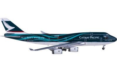 Phoenix 1:400 Cathay Pacific 国泰航空 Boeing 747-400 B-HOY 亚洲国际都会