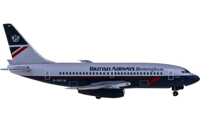 British Airways 英国航空 Boeing 737-200 G-BKYN