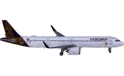Vistara 维斯塔拉航空 Airbus A321neo VT-TVB