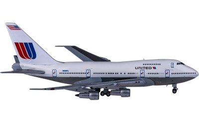 United Airlines 美国联合航空 Boeing 747SP N538PA