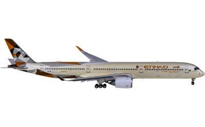 Etihad Airways 阿提哈德航空 Airbus A350-1000XWB A6-XWA 襟翼放下版