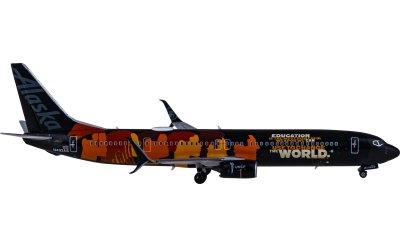 Ngmodel 1:400 Alaska Airlines 阿拉斯加航空 Boeing 737-900ER N492AS