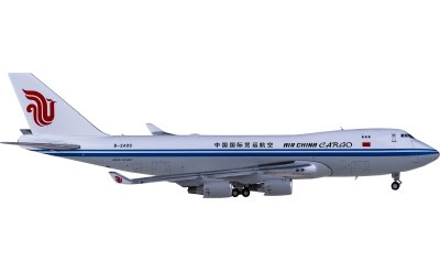 JC Wings 1:400 Air China 中国国际航空 Boeing 747-400F B-2409 货机