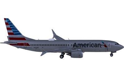 American Airlines 美国航空 Boeing 737 MAX 8 N324RN