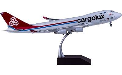 Cargolux 卢森堡货运航空 Boeing 747-400ERF LX-LXL 开门货机