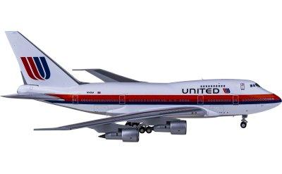 Ngmodel 1:400 United Airlines 美国联合航空 Boeing 747SP N140UA