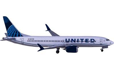United Airlines 美国联合航空 Boeing 737 MAX 8 N27251