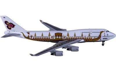 Phoenix 1:400 Thai Airways 泰国国际航空 Boeing 747-400 HS-TGJ 龙舟