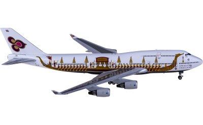 Phoenix 1:400 Thai Airways 泰国国际航空 Boeing 747-400 HS-TGO 龙舟