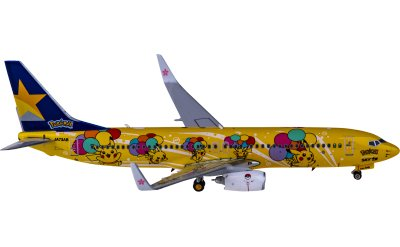 Phoenix 1:400 Skymark Airlines 天马航空 Boeing 737-800 JA73AB Pekachu